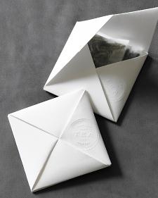 Martha Steward Origami tea envelope