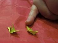 Minifigures origami Anna